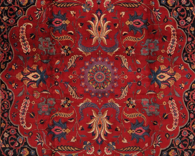 Antique_Persian_Mashad_rug
