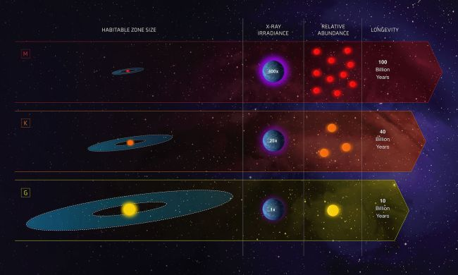 Class K stars are more common than stars like our Sun, and more hospitable than red dwarfs.